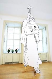 Franz Kapfer, Aviano, Installationsansicht Galerie Hohenlohe, Wien 2006